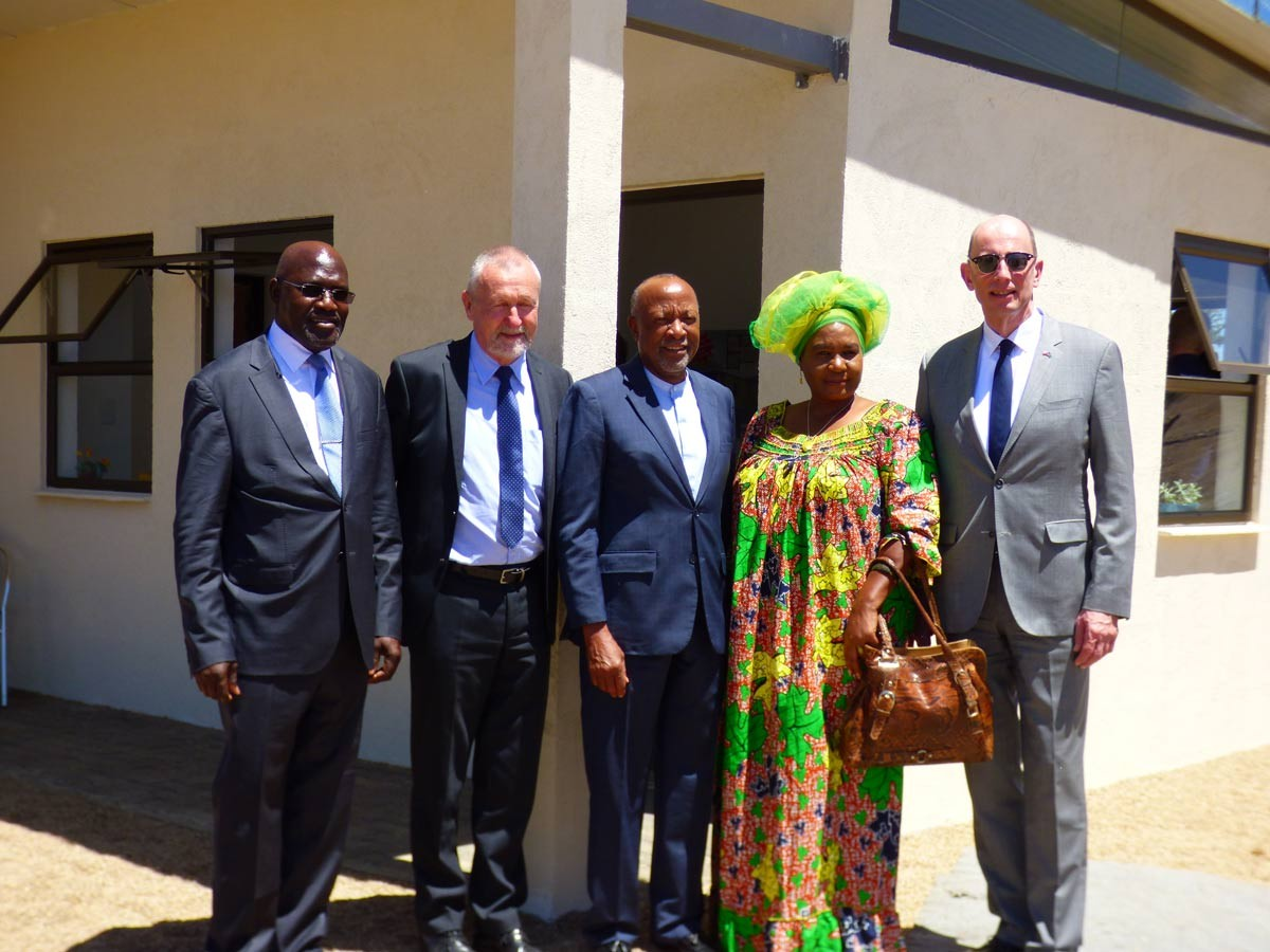 Eröffnung PolyCare Namibia